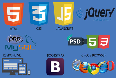 Do HTML, CSS, Javascript/jQuery and PHP & Mysql work for you