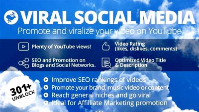 Get any video YouTube VlRAL,Social Media promotion and SEO