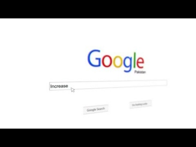 Make this unique Google search promotional intro