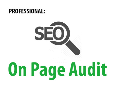 Audit your web sites level of SEO and provide a step by step SEO Plan