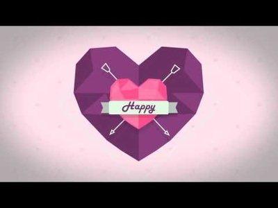 Create a valentine special ROMANTIC edition slideshow with free greeting video