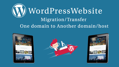 WordPress website migration/transfer one domain to another domain/host