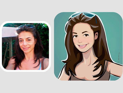 Create a cartoon avatar for you based on a photo you provide.