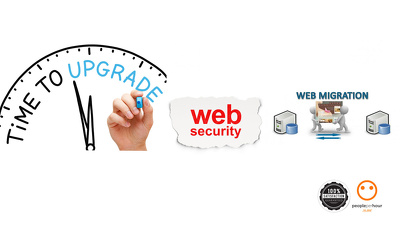 Do a total site upgrading and migration