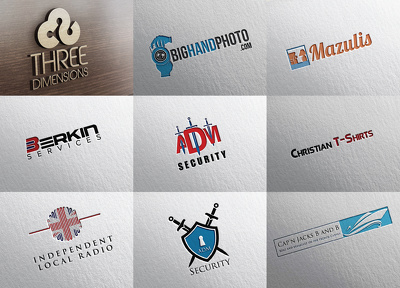 Design bespoke logo + unlimited revision + get Ai PDF SVG PNG