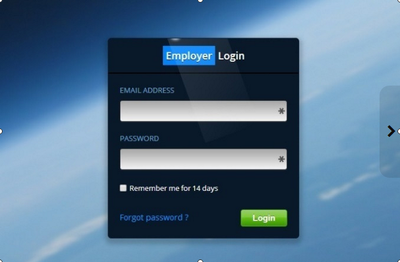 Provide a secure login System or Login Form