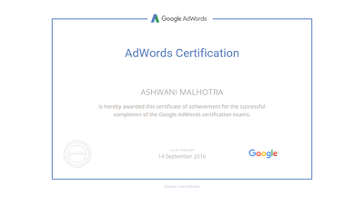 Create and manage your Google Adwords Campaign