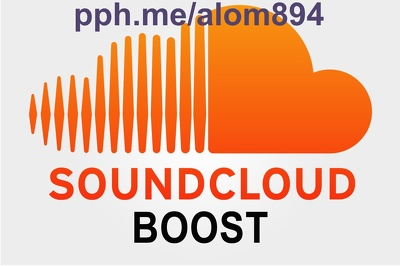 SoundCloud Boost - 20,000 plays, 300 followers, 300 likes, & 30 comments 500 Download