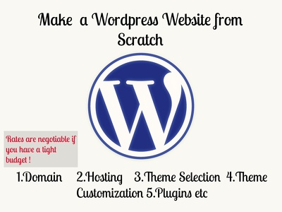 Give you complete Wordpress website in 3 days