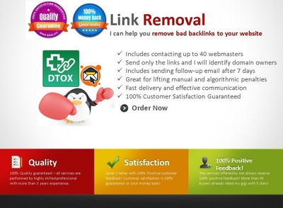 Manage a Link Removal Outreach Campaign