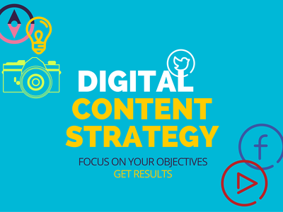 Create a short, bespoke digital content strategy