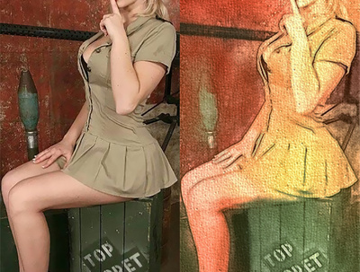 Convert your Photos to Pinup /Cartoon/caricature