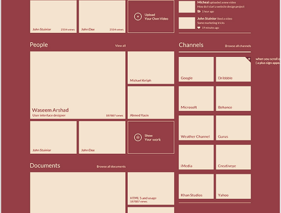 Create a beautiful and captivating Wireframe for web application