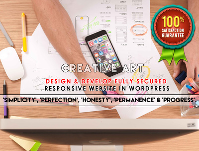 Design & Develop fully secured, fastest loading & Responsive Website In WordPress/CMS