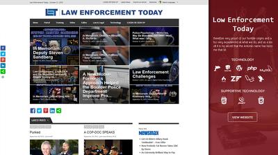 Design a News Portal Website