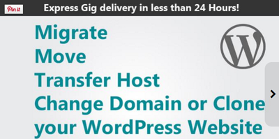 Transfer, migrate or change domain of your WordPress website