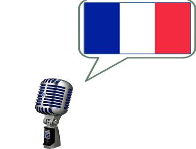 Record up to 30 words of voice over in French male/female