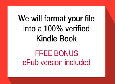 Format and convert your word document to Kindle format