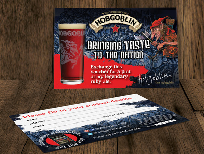 Design an A6 promo card / invite / flyer (double-sided)
