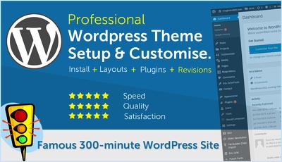 Install, setup & customise your Wordpress theme
