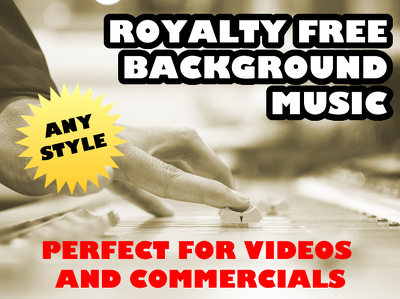 Create royalty free background theme music for your youtube video or commercial
