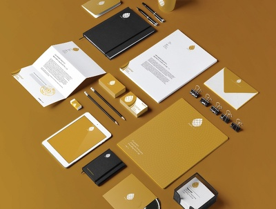 Design Premium Corporate Identity Kit