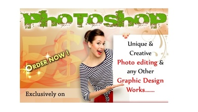 do any photo edit or graphic design work