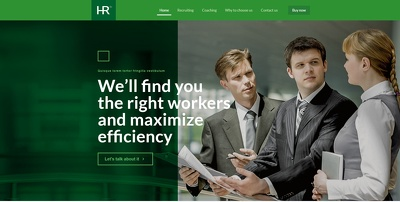 Create a website (your digital asset) for your agency focusing on your ROI
