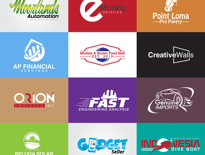 Design 4 Professional Logo concepts with Unlimited revisions in 18 hours