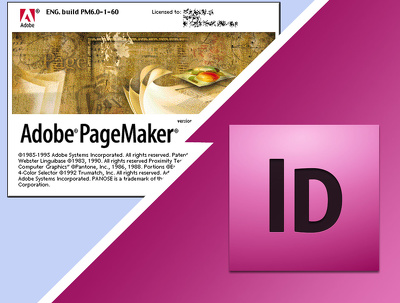 Convert Pagemaker to InDesign (4-page document)