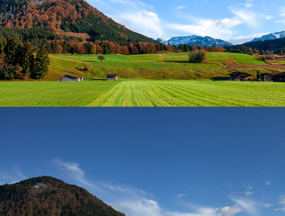 Correction of your 10 landscape and overall photos