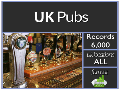 Send you current UK 6000 plus Pubs contacts including email address