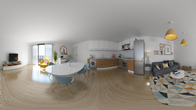 Amazing 360 interior view