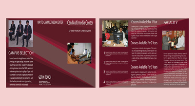 Design professional Bifold/ Trifold Brochure