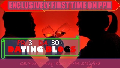 Publish High Authority Guest Post in PR3 DA30+ Dating Blog