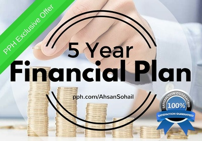 Prepare a perfect 5 year financial model/projections for your business