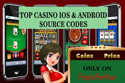 Give 5 casino source codes, iOS and Android