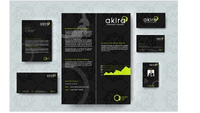 Design Business identity  with Stunning Stationary Package