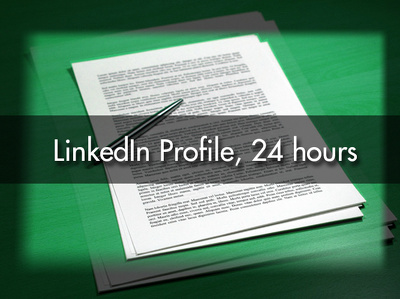 Create and optimise your LinkedIn profile in 24 hours + Revision Period.