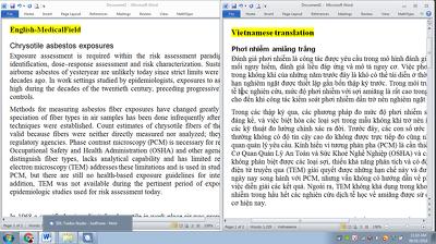 translate 500 English words into Vietnamese