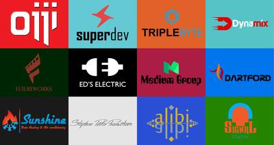 Design your startup branding logo including free business cards