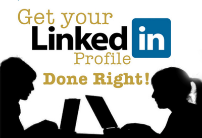 Review or create a professional linkedIn profile