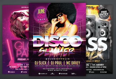 Professional Flyer Designs for you Event, Company, Product or Services