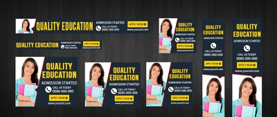 Design fantastic banner (Google Adwords) ads set with unlimited revision in 12 Hours