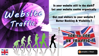 Send you 10000 real Adsense safe UK visitors to your website