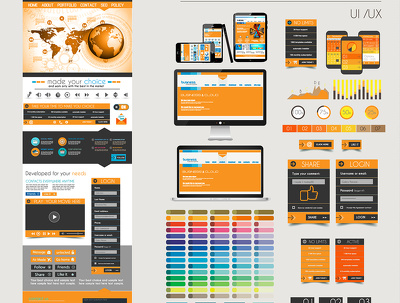 Design & develop 5pages Custom Responsive website with Admin panel