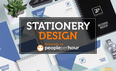 Design your stationary items (letterhead, business card, envelope and slips)