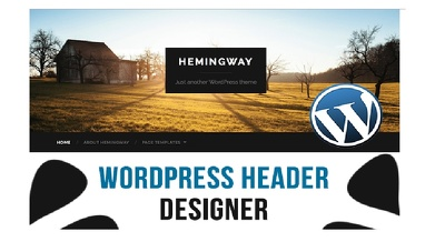 Make an awesome  wordpress header