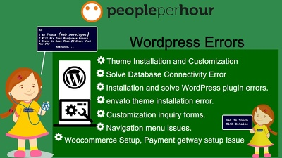 Check and fix your wordpress error, issue, theme error