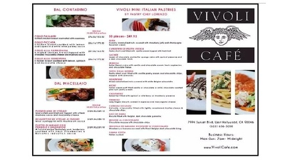 Outstanding restaurant menu cards for your requerment